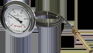 Termômetros Expansão à Gás