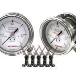 Manômetro diferencial com contato elétrico