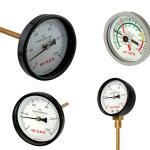 Termômetro industrial bimetálico